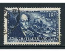 1948 - FRANCIA - CHATEAUBRIAND - USATO - LOTTO/28509
