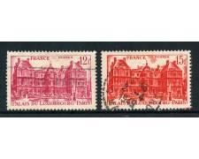 1948 - FRANCIA - PALAZZO DEL LUSSEMBURGO 2v. - USATI - LOTTO/28515