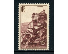 1946 - FRQNCIA - 15 Fr. VEDUTE ROC AMADOUR - LING. - LOTTO/28524