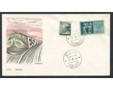 1966 - REPUBBLICA - 150 Lire ESPRESSO - BUSTA FDC - LOTTO/28615