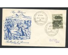1966 - REPUBBLICA - BATTAGLIA DI BEZZECCA - BUSTA FDC - LOTTO/28616