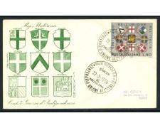 1966 - REPUBBLICA - UNIONE ALL'ITALIA - BUSTA FDC - LOTTO/28619