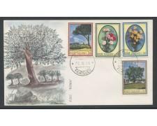 1966 - REPUBBLICA - FLORA 1° SERIE - BUSTA FDC - LOTTO/28622