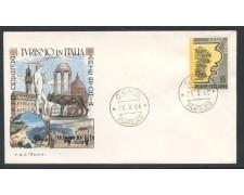 1966 - REPUBBLICA - PROPAGANDA TURISTICA - BUSTA FDC - LOTTO/28623