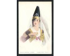 GRECIA - CARTOLINA A COLORI NUOVA COSTUME DI MYKONOS - LOTTO/28753