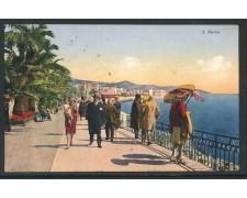 1934 - ITALIA - SAN REMO - CARTOLINA A COLORI VIAGGIATA - LOTTO/28757