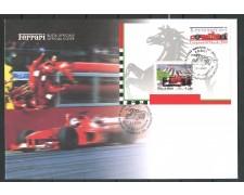2001 - ITALIA REPUBBLICA - FERRARI CAMPIONI - BUSTA FDC FOGLIETTO - LOTTO/28896