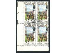 1990 - REPUBBLICA - FOLCLORE - QUATINA USATA FDC - LOTTO/28899