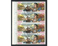 1991 - REPUBBLICA - CELEBRAZIONI COLOMBIANE - BLOCCO FDC - LOTTO/28928