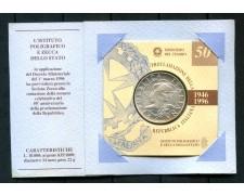 1996 - REPUBBLICA - 10.000 LIRE ARGENTO PROCLAMAZIONE REPUBBLICA - LOTTO/M28491