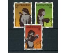 1979 - LOTTO/4584 - LIECHTENSTEIN - ANNO DEL FANCIULLO 3v. - USATI