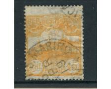 1903 - LOTTO/4932 - SAN MARINO - 45 c. GIALLO  VEDUTA - USATO