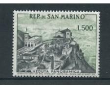 1958 - LOTTO/5761A - SAN MARINO - 500 LIRE VEDUTA PANORAMICA - NUOVO