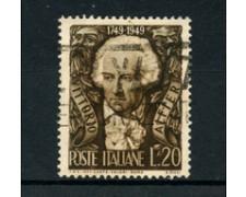 1949 - LOTTO/6080UA - ITALIA REPUBBLICA - 20 Lire V. ALFIERI - USATO