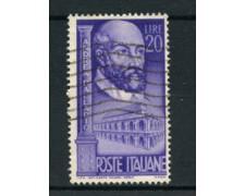 1949 - LOTTO/6083UA - ITALIA REPUBBLICA - ANDREA PALLADIO - USATO