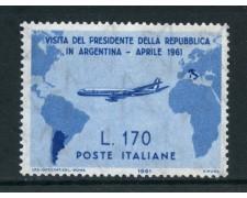 1961 - REPUBBLCA - 170 LIRE VISITA  GRONCHI - NUOVO - LOTTO/6385A