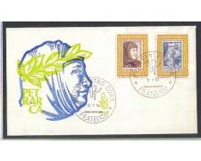 1974 - LOTTO/6604ZA - REPUBBLICA - FRANCESCO PETRARCA - FDC