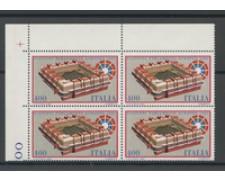 1984 - LOTTO/6808Q - REPUBBLICA - PARLAMENTO EUROPEO - QUARTINA NUOVI
