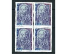 1986 - LOTTO/6849Q - REPUBBLICA - G.B.PERGOLESI - QUARTINA