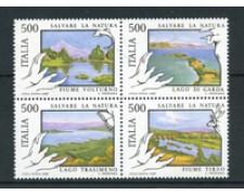 1987 - LOTTO/6870 - REPUBBLICA - SALVAGUARDIA NATURA 4v. - NUOVI