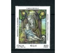 2000 - LOTTO/7283 - REPUBBLICA - CARLO CRIVELLI 1v. - NUOVO