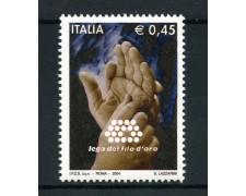 2004 - LOTTO/7480 - REPUBBLICA - LEGA DEL FILO D'ORO - NUOVO