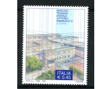 2004 - LOTTO/7481 - REPUBBLICA - ISTITUTO  VITT. EMANUELE III° - NUOVO