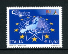 2004 - LOTTO/7485 - REPUBBLICA - COSTITUZIONE EUROPEA - NUOVO