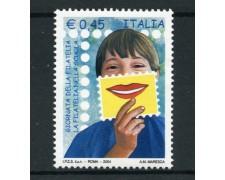 2004 - LOTTO/7489 - REPUBBLICA - GIORNATA FILATELIA - NUOVO