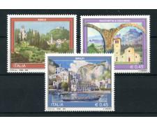 2005 - LOTTO/7514 - REPUBBLICA - TURISTICA 32° SERIE  3v. - NUOVI
