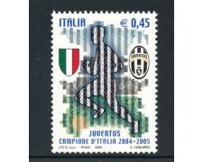 2005 - LOTTO/7516 - REPUBBLICA - JUVENTUS CAMPIONE D'ITALIA - NUOVO