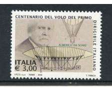 2005 - LOTTO/7518 - REPUBBLICA - CENTENARIO DEL VOLO PRIMO DIRIGIBILE - NUOVO