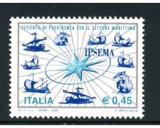 2005 - LOTTO/7521 - REPUBBLICA - PREVIDENZA MARITTIMA - NUOVO
