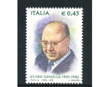 2005 - LOTTO/7526 - REPUBBLICA - GUIDO GONELLA - NUOVO