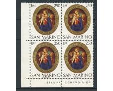 1974 - LOTTO/7956QN - SAN MARINO - NATALE - QUARTINA NUOVI