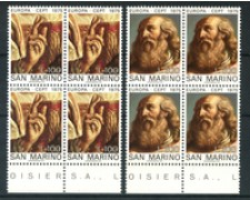 1975 - LOTTO/7959Q - SAN MARINO - EUROPA 2v. - QUARTINE NUOVI