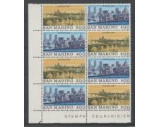 1980 - LOTTO/8006Q - SAN MARINO - LONDON 80  QUARTINA NUOVI.