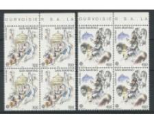 1982 - LOTTO/8024Q - SAN MARINO - EUROPA - QUARTINE NUOVI