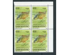 1985 - LOTTO/8058Q - SAN MARINO - CAMPIONATI DI PESCA - QUARTINA - NUOVI