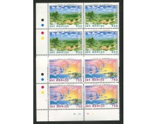 1995 - LOTTO/8152Q -  SAN MARINO - EUROPA 2v. - QUARTINA NUOVI