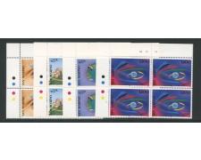 1995 - LOTTO/8155QN - SAN MARINO - TURISMO - QUARTINE NUOVI