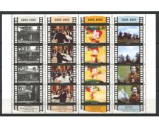 1995 - LOTTO/8157N - SAN MARINO - CENTENARIO DEL CINEMA FOGLIETTO - NUOVO