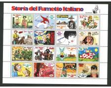 1997 - LOTTO/8183 - SAN MARINO - STORIA FUMETTO - FOGLIETTO NUOVO