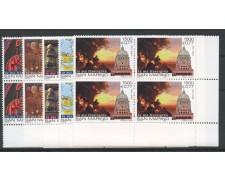 1999 - LOTTO/8209QN - SAN MARINO - VERSO IL GIUBILEO 2000 - QUARTINE