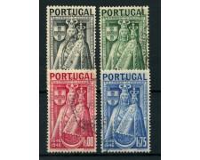 1946 - LOTTO/9722U - PORTOGALLO - VERGINE PATRONA 4v. - USATI