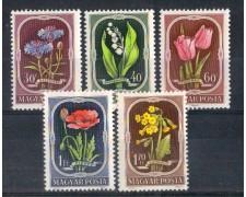 1951 - LBF/2916 - UNGHERIA - FIORI - NUOVI