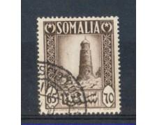 1950 - LOTTO/9844U - SOMALIA AFIS - 65c. BRUNO - USATO