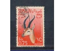 1955 - LOTTO/9863U - SOMALIA AFIS - P/AEREA  75c. GAZZELLE - USATO
