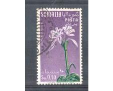 1959 - LOTTO/9868U - SOMALIA AFIS - 10c. FIORI USATO