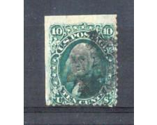 1861 - LBF/2927 -  STATI UNITI - 10c. VERDE
